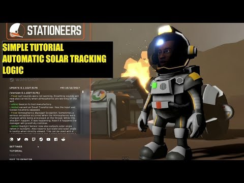 Stationeers - Tutorial - Automated Solar Tracking Logic