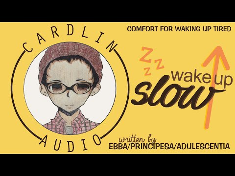 ASMR Roleplay: Wake up slow [Comfort for waking up tired] [Sleeping in] [Gender Neutral]