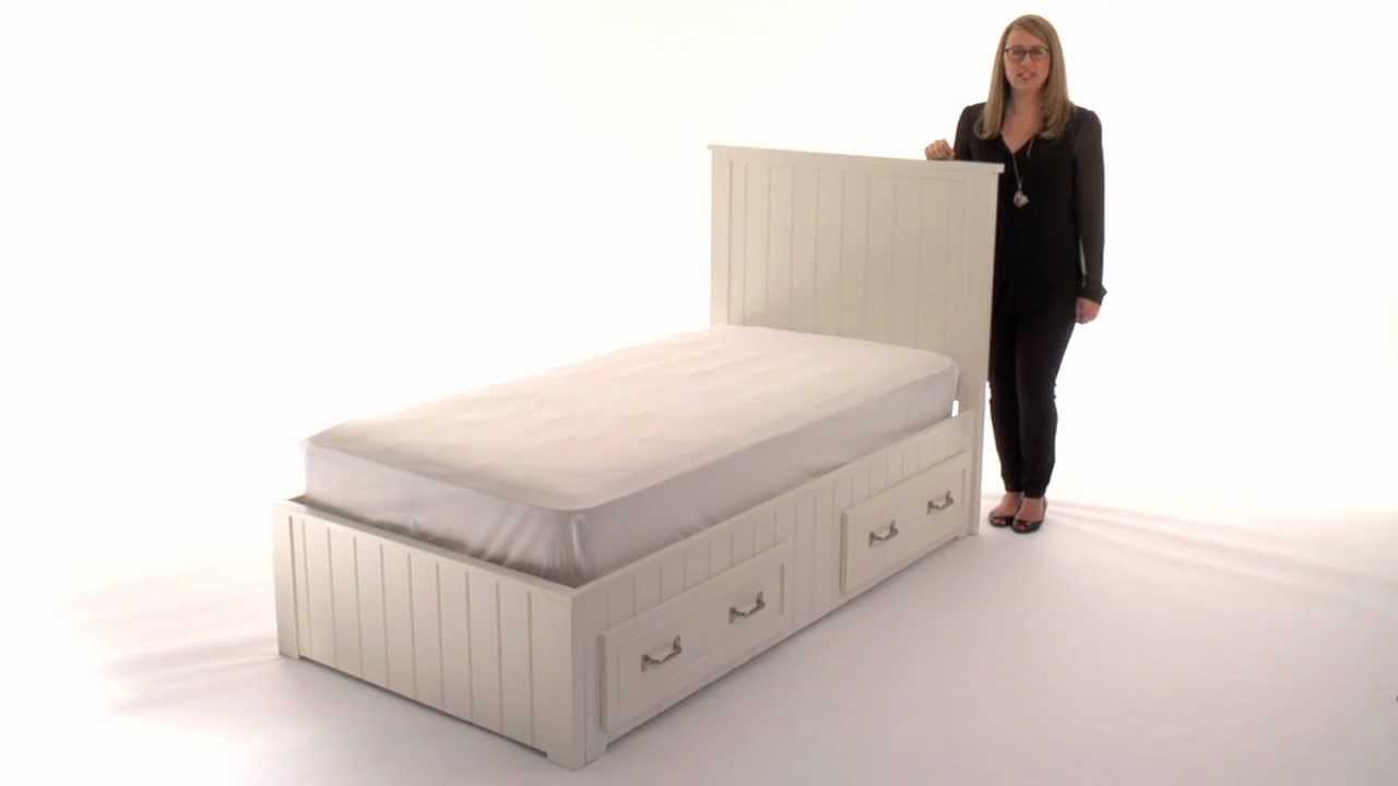 Belden Kids Storage Bed A Combination of Classic Style and Functionality | Pottery Barn Kids - YouTube  sc 1 st  YouTube & Belden Kids Storage Bed: A Combination of Classic Style and ...