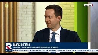 M. OCIEPA (MINISTERSTWO PRZEDSIĘBIORCZOŚCI I TECHNOLOGII) - JESTEŚMY PRZYGOTOWANI NA TWARDY BREXIT