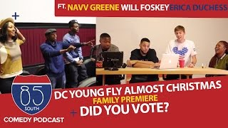 DC Young Fly Almost Christmas Premiere Will Packer Keri Hilson & The Presidential Response Part 1