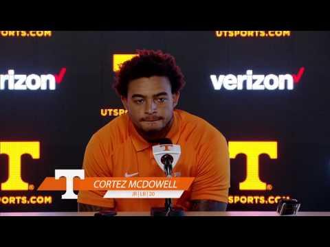 Tennessee Football Media Availability - 8.27.16