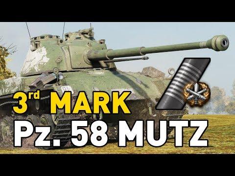 World of Tanks    Pz. 58 Mutz - 3 Marks