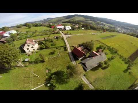Short flight over Skalite, Slovakia