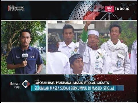 Demo Sukmawati, Massa Aksi 212 Padati Masjid Istiqlal - iNews Pagi 06/04