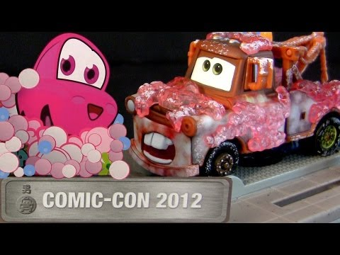 Cars 2 Mater in Japanese Bathroom Comic-Con 2012