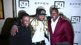 50 CENT bartends at The SAVOY Restaurant