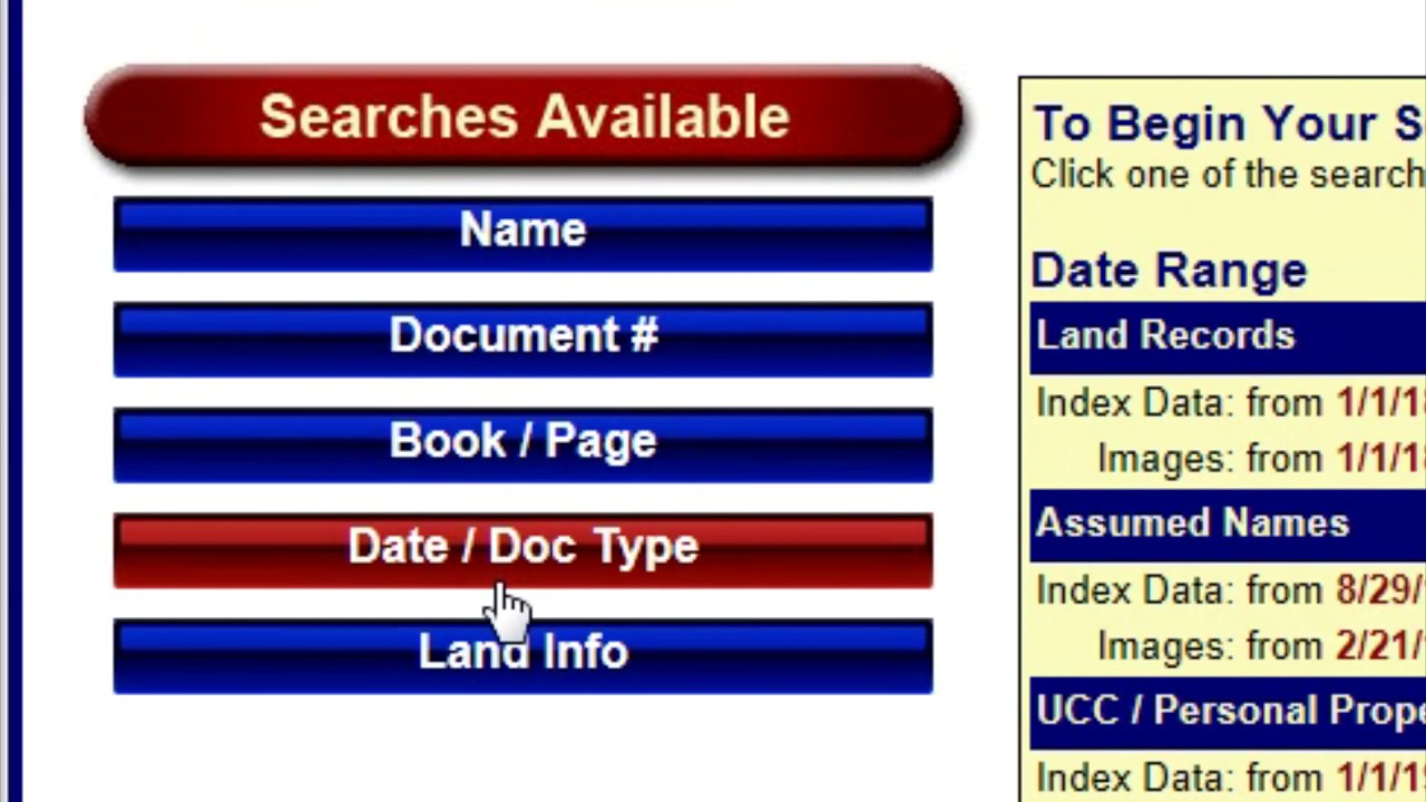 How to look up deeds and land records to research a property's history