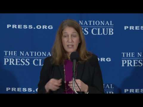 Health and Human Services Secretary Sylvia Burwell speaks at The National Press Club