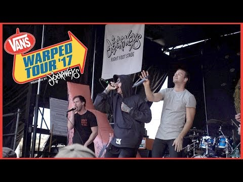Dance Gavin Dance - Chucky Vs The Giant Tortoise (LIVE at Warped Tour 2017) Feat. Fronz! Mp3