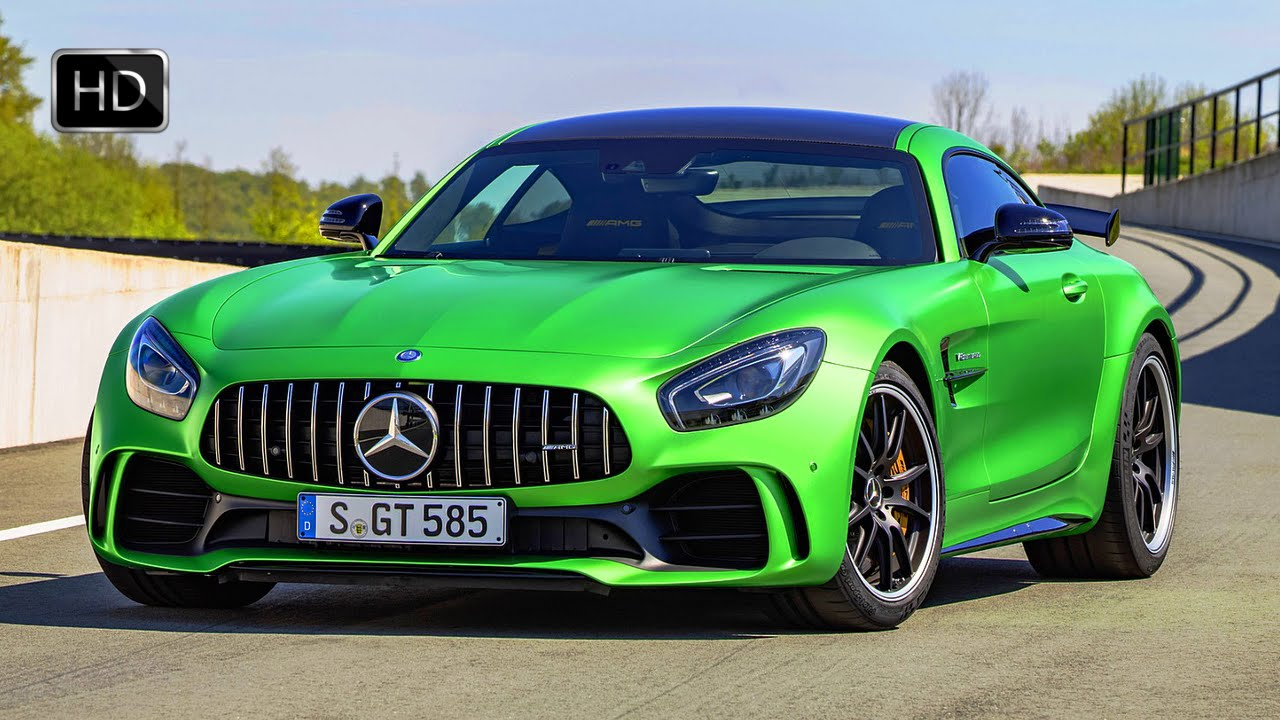 2018 Mercedes-AMG GT R Coupe Facelift Exterior & Interior ...