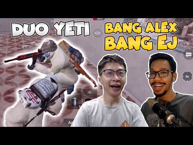 TERIAKAN YETI BANG ALEX! DUO YETI USIL DI VIKENDI! - PUBG MOBILE INDONESIA