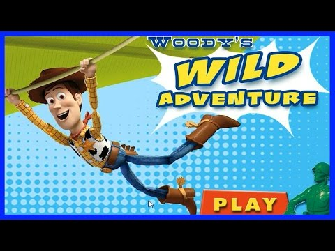 Woody's Wild Adventure FULL Game In HD - Toy Story 3 Game - Toy Story Movie Based Games