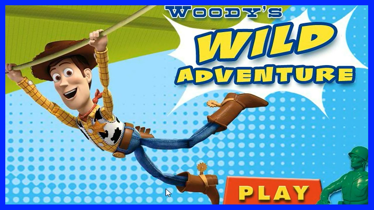 Woody Toy Story 3 Games : Woody s wild adventure full game in hd toy story