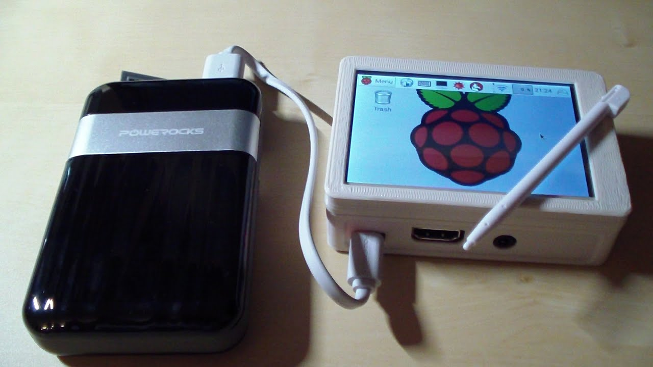 Raspberry Pi 3 Tablet  Pc  Portable