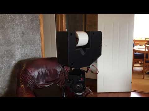 Repeat Arduino LIDAR 3D scanner - Fusion 360 - 3D printed #2