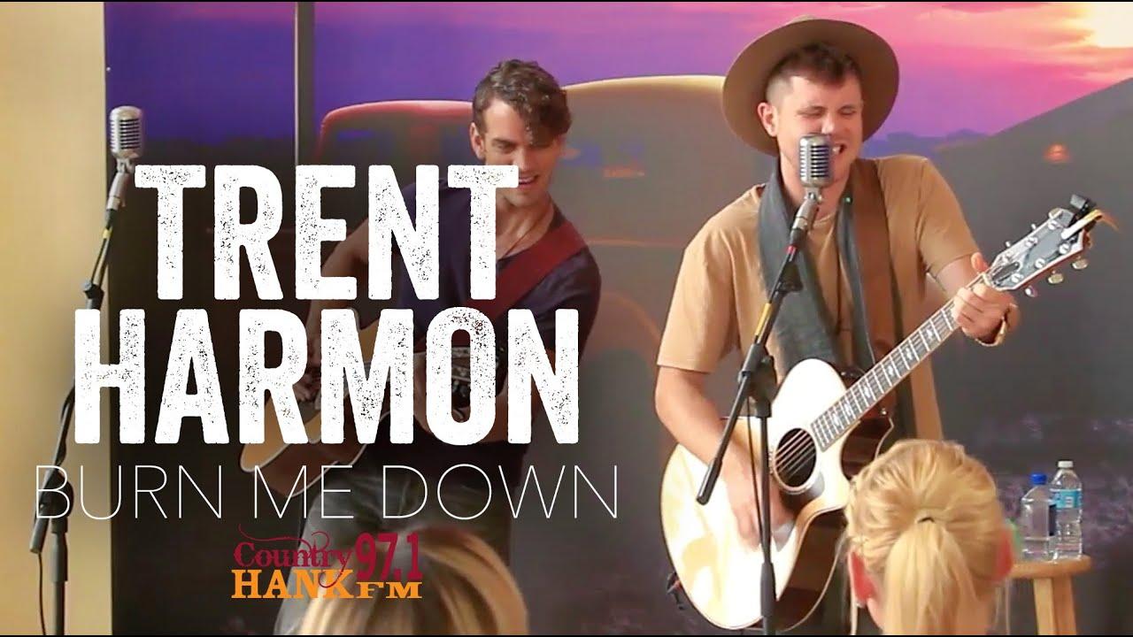 Trent Harmon - Burn Me Down - YouTube