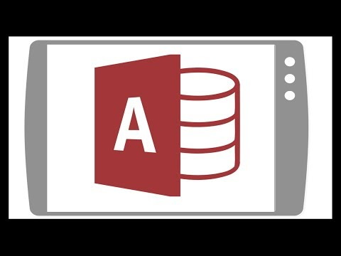 Microsoft Access On An Android Or IPad Tablet