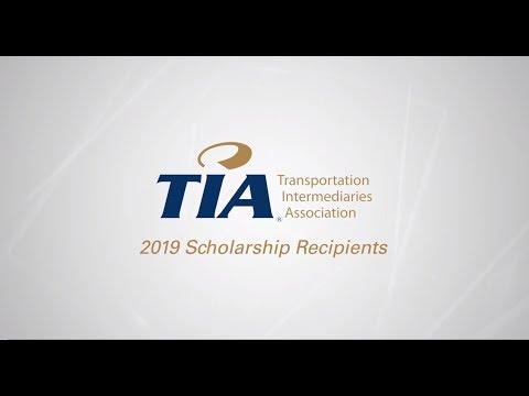 2019 TIA Scholarship Award
