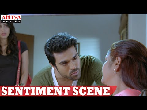 Yevadu Movie || Ram Charan & Jayasudha Family Sentiment Scene || Ram Charan, Shruthi Hasan