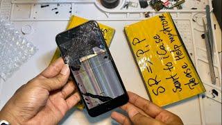 Restoration iPhone 7plus...(4k videos)