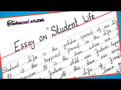 Essay For Student Life