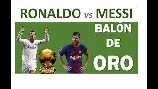Leo Messi y Cristiano Ronaldo: batalla por el BALÓN DE ORO DECISIVO