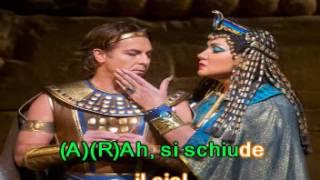 Dúo: Aída y Radamés. De: Giuseppe Verdi