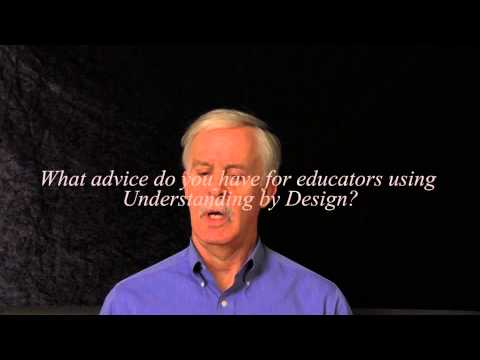 What is Understanding by Design? Author Jay McTighe explains.