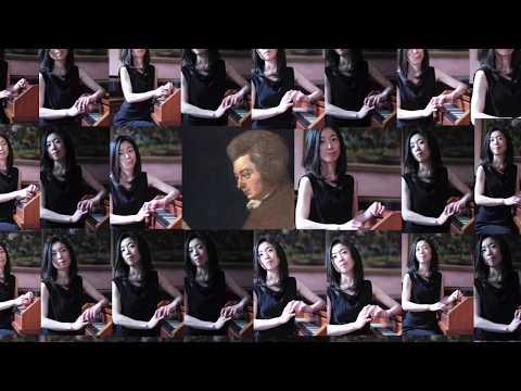 Yuko Inoue plays Mozart : Suite KV399 and Gigue KV574 (Fortepiano)