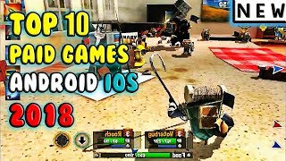 Best Paid Games For Android IOS 2018