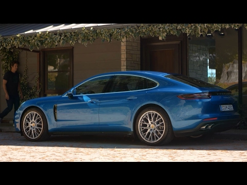 GoPro founder Nick Woodman meets the new Panamera.