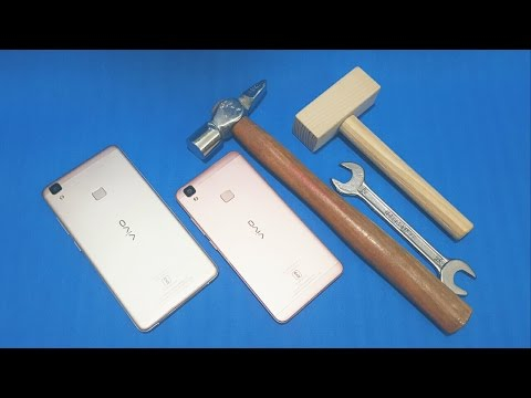 Vivo V3/V3 Max Screen Scratch Test (Combined Test)