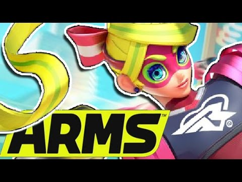 BETTER THAN IT LOOKS│ Nintendo Switch ARMS Preview! │ ProJared Plays!