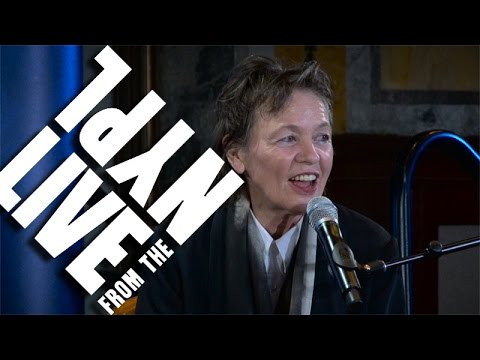 Trusting Laughter over Intelligence: Laurie Anderson | LIVE from the NYPL
