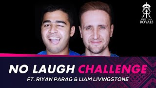No-laugh challenge ft. Riyan Parag and Liam Livingstone | IPL 2021