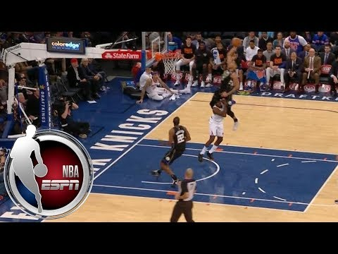 Giannis Antetokounmpo literally jumps over Tim Hardaway Jr. on ridiculous dunk | ESPN