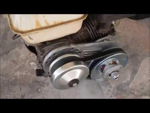 how to install a go kart torque converter kit clutch 3/4