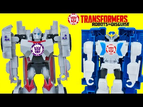 TRANSFORMERS ONE STEP CHANGERS WAVE 11 ROBOTS IN DISGUISE HEATSEEKER STRONGARM TOY FUN