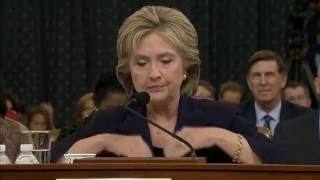 Hillary Clinton LYING UNDER OATH, clear grounds for PERJURY