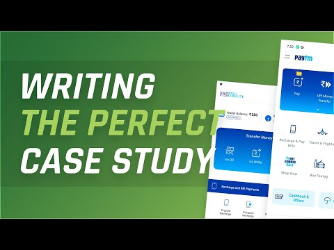 Writing the Perfect UI/UX Case Study!