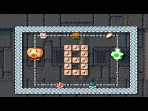 Super Mario World Power-Up Party by AngryLuigi - SUPER MARIO MAKER - NO COMMENTARY