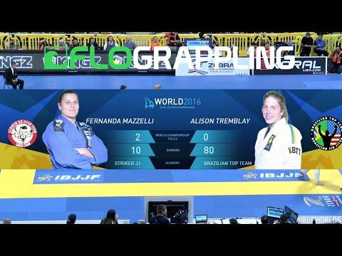 Fernanda Mazzelli VS Alison Tremblay / World Championship 2016