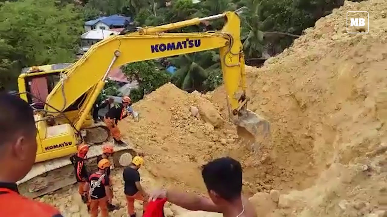 Rescue operation in Naga City
