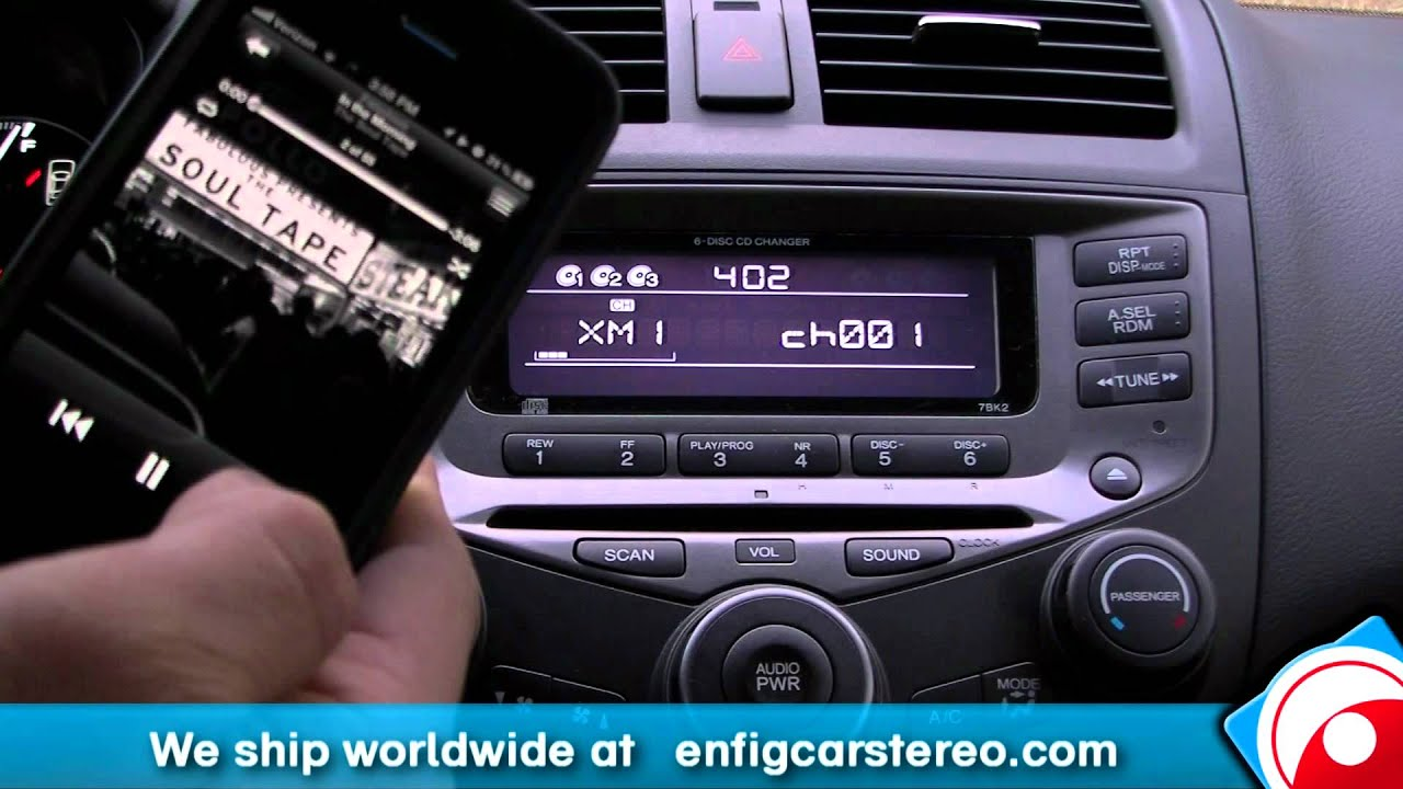 Ipod Iphone Aux 2004 2007 Honda Accord Isimple Ishd571