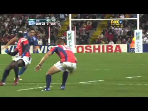 Rugby 2007. Pool A. Samoa v United States