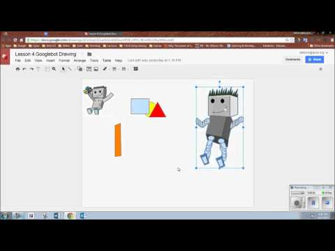 Copy A Google Drawing And Paste Into A Google Doc.