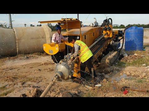 ម៉ាស៊ីខួងដាក់ខ្សែកាប -Technology Underground Cable Laying Machine - ZT 25A Directional Drilling Rigs