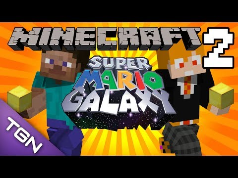 Minecraft : Super Mario Galaxy Map - นักเก็บทอง Part.2