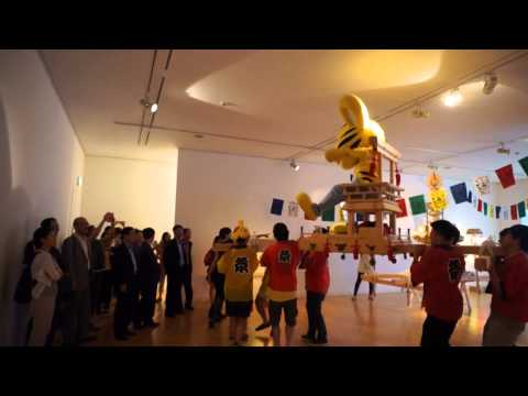 Aappy Mikoshi and Exhibition View in SOMA Museum of Art 2013